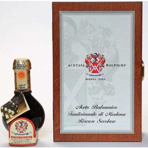 最高級マルピーギ 伝統的バルサミコ 熟成100年 ナンバリング入り 貴重品 投資にも|sanyu-kousan