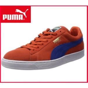 プーマ PUMA スウェード  スエード クラシック+ スニーカー メンズ 紳士靴 カジュアルシューズ ローカット/356568 59 オレンジ|sanyuukutu