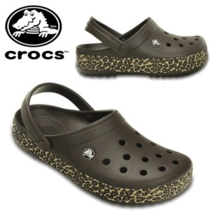 クロックス くろっくす crocs crocband animal print clog クロックバンド アニマル プリント クロッグ サンダル ヒョウ柄 200721-23Q【22cm〜28cm】|sanyuukutu