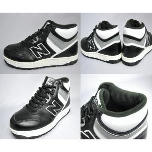 ニューバランス new balance メンズ ブーツ(スノトレ)防水 防寒 雪国対応 スニーカーSB601 【ブラック】【ホワイト】【BGW】【WRB】【25〜29m】|sanyuukutu|03