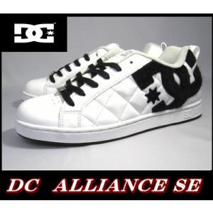 ディーシー dc DC Shoes 301152 WBK アライアンス メンズ スニーカー 靴 キルティング 白黒【26cm〜29cm】|sanyuukutu