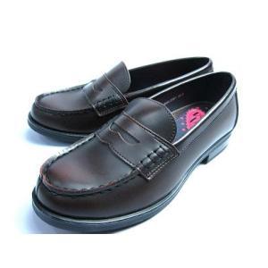 ローズファンファン レディース ローファー<通学靴>2001 Dブラウン 学生靴 送料無料|sanyuukutu