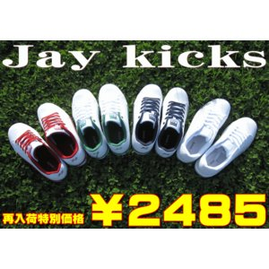 ローカット メンズ スニーカー コートシューズ ジェイ キックス Jaykicks JK505 靴 ホワイト 白 スタンスミス タイプ 25〜28cm|sanyuukutu
