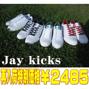 ローカット レディース スニーカー コートシューズ ジェイ キックス Jaykicks JK504 靴 ホワイト 白 スタンスミス タイプ 23〜24.5cm|sanyuukutu