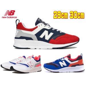大きいサイズ ニューバランス メンズ CM997HEA AJ EB チームレッド ホワイト ブルー ピンク ランニング トレーニング スニーカー 靴 男性 29cm 30cm|sanyuukutu