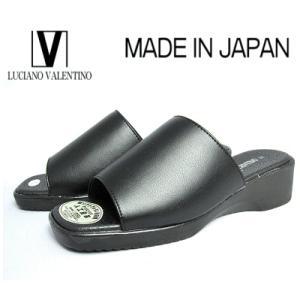 超特価【セール】 ルチアノバレンチノ6090(6000) ブラック<スムース>  レディースサンダル ヘップ【S〜LL】|sanyuukutu