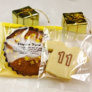 背番号入りユニフォームクッキー&マドレーヌ|sap