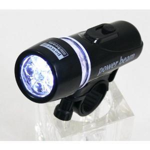 /防水 自転車用 LEDライト/ 5灯 5LED/ 送料無料 数量限定特価|saponintaiga