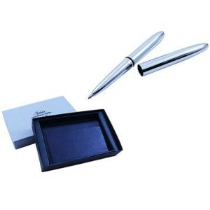 フィッシャー ボールペンギフトセット 本革名刺ケース&ブレットボールペン#400セット WH400|saponintaiga