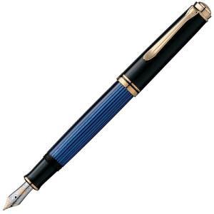 Pelikan/ペリカン/万年筆 Souveran スーベレーン M600 青縞 ペン先選択可|saponintaiga
