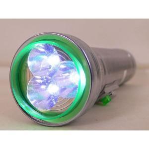 単1電池変換アダプタ付ライト/3LED懐中電灯 300Sx3本/卸/|saponintaiga