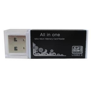 SDカードリーダー/ライター 4in1 アルミ SD+microSD+MSDUO+microMSDUO ブラックx2個セット/卸/送料無料メール便 ポイント消化|saponintaiga