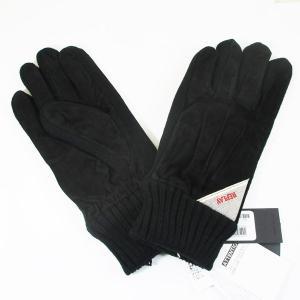 リプレイ メンズ グローブ 手袋 豚革 レザー AM6018-002-A3066B サイズ:L ブラック/送料無料|saponintaiga