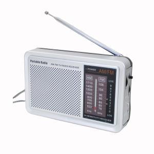 AM/FM対応 シンプル操作で使いやすい小型ラジオ  手持ちのラジオでワイドFMを聴けますか。 お手...