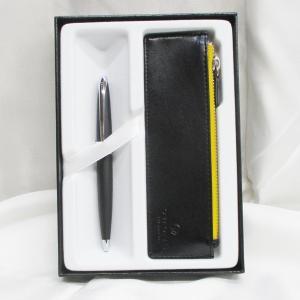 クロス ボールペン 油性 ATX 882-3/Z1 バソールトブラック+ペンケースギフト|saponintaiga