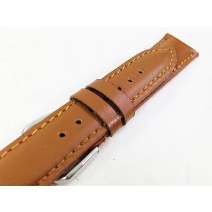 BAZZIO 交換用腕時計ベルト イタリアンレザー B-3003/キャメル 取り付け説明書も付属|saponintaiga