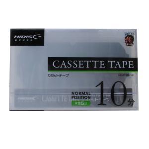 カセット テープ 10分 HIDISC HDAT10N1P/0159xx10本セット/卸/送料無料|saponintaiga