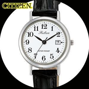 シチズン 日本製ムーブメント カレンダー付 レディース腕時計 D023-304/送料無料|saponintaiga
