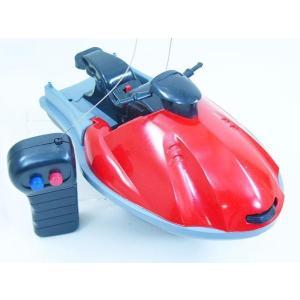 水上ラジコン RC SPEED JET SKI ラジコン ジェットスキー レッドx1台/送料無料|saponintaiga