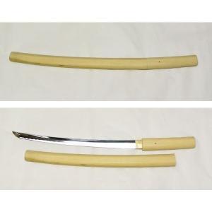 模造刀 日本刀 白鞘 小刀 日本製美術刀剣|saponintaiga