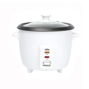 3合炊き炊飯器 保温機能付き&蒸し器 スチームクッカー ララクック MEK-69/送料無料|saponintaiga
