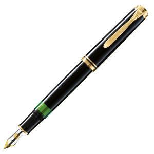 ペリカン 万年筆 スーベレーン M800 ブラック 日本正規品 ペン先選択可/送料無料|saponintaiga