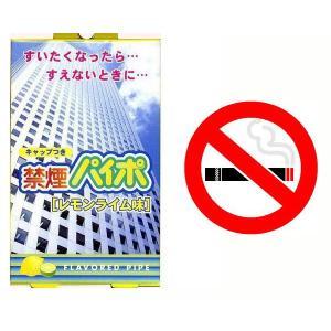 禁煙パイポ レモンライム味 3本入りx1箱 マルマン