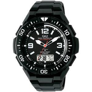 腕時計 シチズン 電波ソーラー クロノグラフ 10気圧防水 メンズ MD06-305/3462/送料無料|saponintaiga