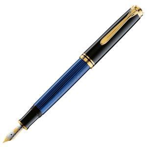 ペリカン 万年筆 スーベレーン M800 青縞ブルー 日本正規品 ペン先選択可|saponintaiga