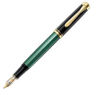ペリカン 万年筆 M300 スーベレーン300シリーズ 緑縞/送料無料|saponintaiga