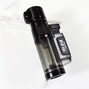ツインライト アゲインスト トリプルジェット ガス注入式ライター PJ Stage2 ブラック|saponintaiga