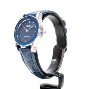 シチズン ファルコン 腕時計 日本製ムーブメント 革ベルト ネイビー/紺 QA37-302 レディース 婦人|saponintaiga