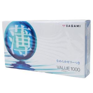 コンドーム薄VALUE1000 バリュー1000 相模ゴム工業 sagamix1箱/送料無料メール便 ポイント消化|saponintaiga