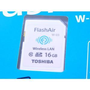 東芝 無線LAN搭載 Flash Air Wi-Fi SDHCカード 16GB Class10  SD-R016GR7AL03