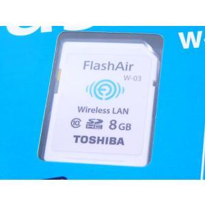 東芝 無線LAN搭載 Flash Air Wi-Fi SDHCカード 8GB Class10  SD-R008GR7AL03