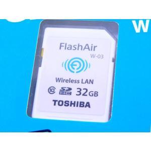 東芝 無線LAN搭載 Flash Air Wi-Fi SDHCカード 32GB Class10  SD-R032GR7AL03