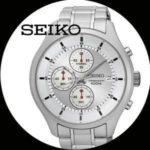 セイコー 紳士腕時計 クォーツ クロノグラフ SKS535P/送料無料|saponintaiga