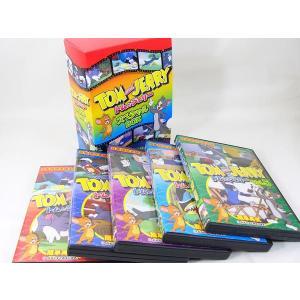 トムとジェリー スペシャルBOX DVD5枚セット(5巻個別パッケージ)|saponintaiga