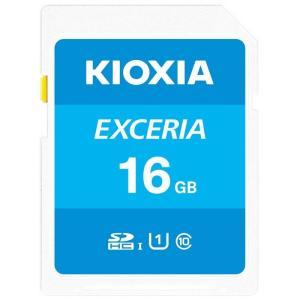 KIOXIA (旧東芝) SDカード SDHC 16GB 16ギガ CLASS10 UHS-I 過渡期につき柄変更あり saponintaiga