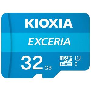KIOXIA (旧東芝) マイクロSD microSDHCカード 32GB 32ギガ クラス10/送料無料|saponintaiga