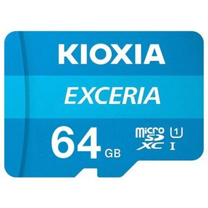 KIOXIA (旧東芝) マイクロSD microSDXCカード 64GB 64ギガ クラス10 過渡期につき柄変更あり/送料無料メール便 saponintaiga