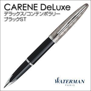 WATERMAN ウォーターマン万年筆 カレン・デラックス コンテンポラリー/ブラックST/S2227113|saponintaiga