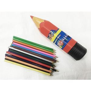 24色入り 色えんぴつ 鉛筆型ケース入り色鉛筆 XWX-CBx3個セット/卸/|saponintaiga