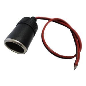 <シガーソケット通販・販売><シガーソケットA 赤線はプラス 黒線はマイナス>1個<1co-000>|sapporo-boueki