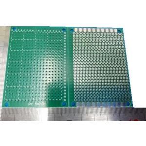 <ユニバーサル基板通販・販売ユニバーサル基板<片面 ガラス 50mm×70mm 18×24穴>1枚 2.54mm基板<1pc-035>