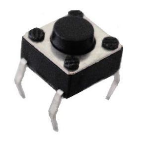 <タクトスイッチ販売・通販>タクトスイッチ<基板取付用タクトスイッチ 4.5mm×4.5mmスイッチ 全高3.8mm>10個<1sw-110>|sapporo-boueki