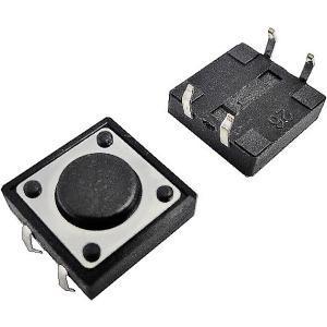 <タクトスイッチ販売・通販>スイッチ通販販売 タクトスイッチ<12mm×12mmスイッチ 全高20mm>10個<1sw-171>|sapporo-boueki