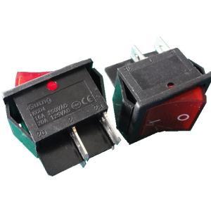 <ロッカースイッチ通販・販売><2回路1接点 KC108-6P-B 穴あけ25.0×21.0mm> 2個入<1sw-418>|sapporo-boueki