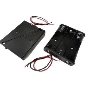 <単3 電池ボックス 1段×3=3本><工作用電池ボックス・電池ケース>2個入<bat-006>|sapporo-boueki