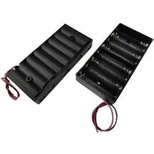 <単3 電池ボックス 1段×8=8本><単3 8本 コード付電池ボックス>2個<bat-009>|sapporo-boueki